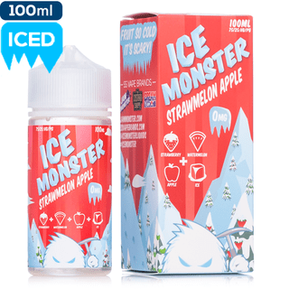 Juice - Ice Monster - Strawmelon Apple - 100ml
