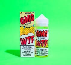 Juice - Omg - Wtf - Strawberry Sour Belt - - 120ml