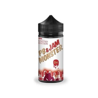 Juice-  Limited Edition PB & Jam Monster- Strawberry - 100ml