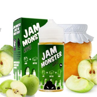 Juice - Jam Monster - Apple - 100ml