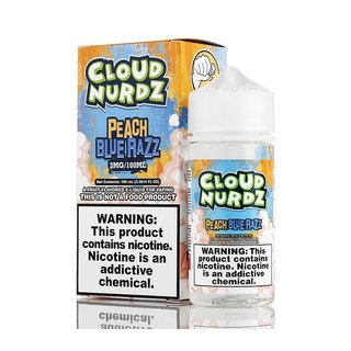 Juice - Cloud Nurdz - Peach Blue Razz - 100ml
