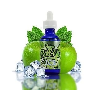 Juice -  Roll Upz  Ice - Green Apple Ice - 60ml