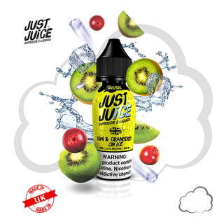Juice - Just Juice - Kiwi Cranberry Ice - 60ml