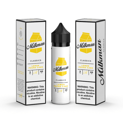 Juice - The Milkman - Lemon Pound Cake - 60ml