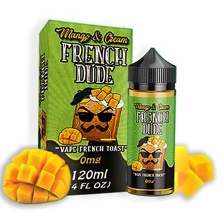 Juice -  French Dude - Mango Cream - - 120ml