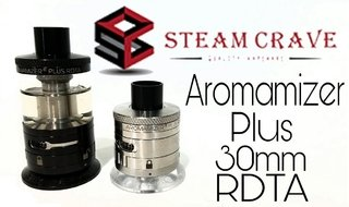 RDTA - Steam Crave - Aromamizer Plus