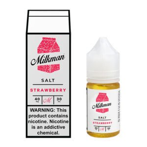 SaltNic - The Milkman- Strawberry - 30ml