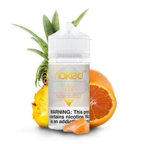 Juice - Naked 100 - Maui Sun - 60ml