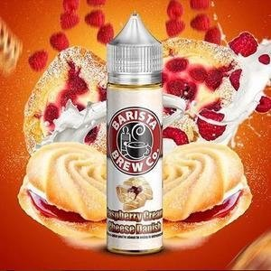 Juice - Raspberry Cream Cheese Danish By Barista Brew Co 60ml