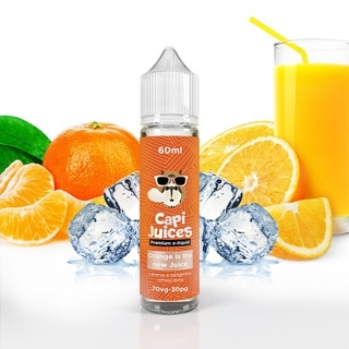 Juice - Capi Juices - Orange is the new Juice - 60ml