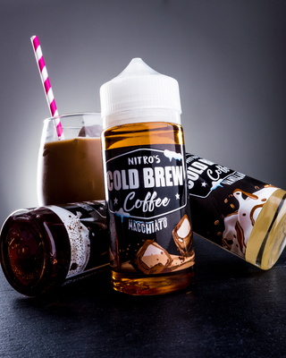 Juice - Nitro's Cold Brew - Macchiato - 100ml
