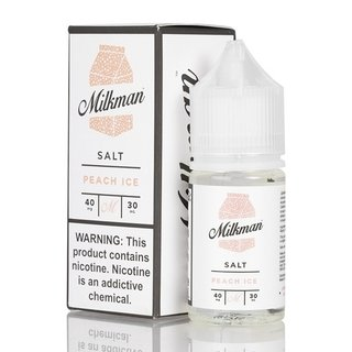 SaltNic - The Milkman- Peach Ice - 30ml