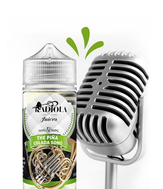 Juice - Radiola - The Pina Colada Song - 100ml
