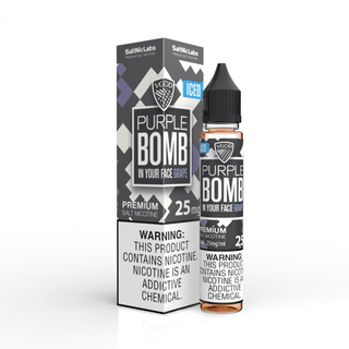 SaltNic - Vgod - Purple Bomb Iced - 30ml