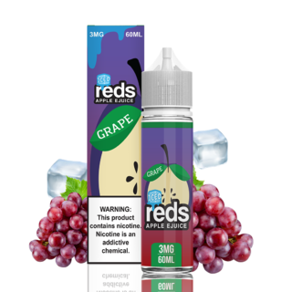 Juice - Reds -  Grape Iced - 60ml