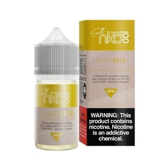 SaltNic - Naked - Euro Gold - 30ml
