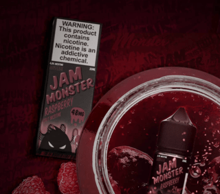 SaltNic - Jam Monster- Raspberry - 30ml
