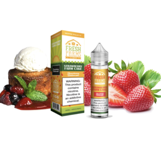 Juice - Fresh Farms - Strawberry Farm Cake - 60ml
