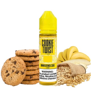 Juice - Twist - Banana Oatmeal Cookie - 60ml