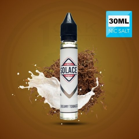 SaltNic - Solace - Creamy Tobacco - 30ml