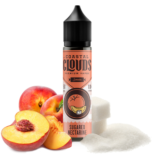 Juice - Coastal Clouds - Sugared Nectarine - 60ml