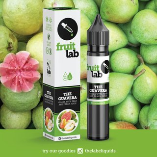 Juice - Fruit Lab - The Guavera - 30ml