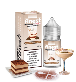 SaltNic - Finest - Tiramisu Custard - 30ml