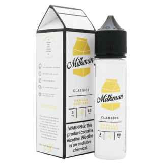 Juice - The Milkman - Vanilla Custard - 60ml