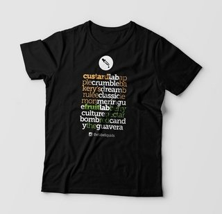 Camiseta - The Lab Sabores - Unisex