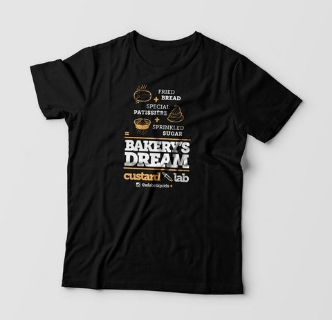 Camiseta - The Lab - Bakery´s Dream - Unisex