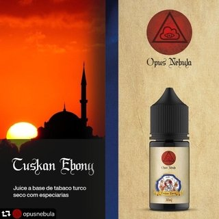 Juice - Opus Nebula - Cuskan Ebony - 30ml