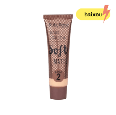 Base líquida soft matte - Ruby Rose - Bege 2