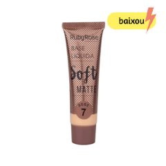 Base líquida soft matte - Ruby Rose - Bege 7