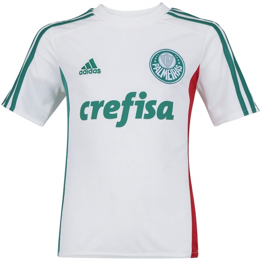 Camisa Ii Infantil Palmeiras 2015 16 17 d538bba79186b