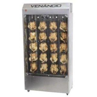 Forno assador a gás vertical para frangos FFV20 - Venâncio