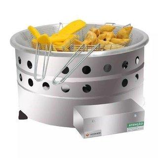 Tacho fritador a gás 7 litros alta pressão TGG - Venâncio