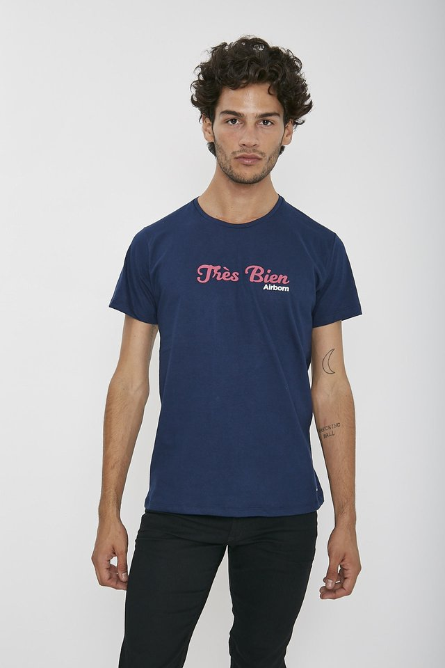 REMERA FRENCH TRES BIEN