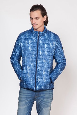CAMPERA REVER DENIM PRINT en internet