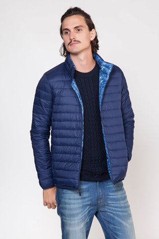 CAMPERA REVER DENIM PRINT