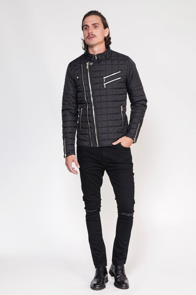 CAMPERA NYLON DOUBLE ZIP en internet