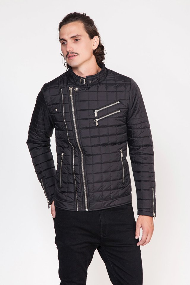 CAMPERA NYLON DOUBLE ZIP