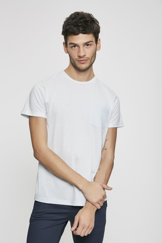 REMERA POCKET LINEN - comprar online