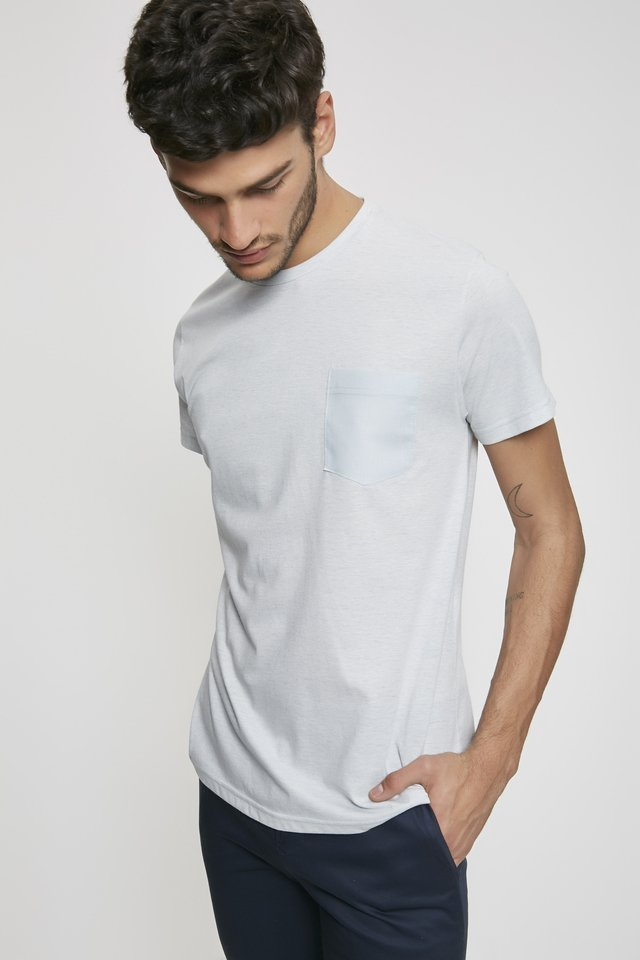 REMERA POCKET LINEN