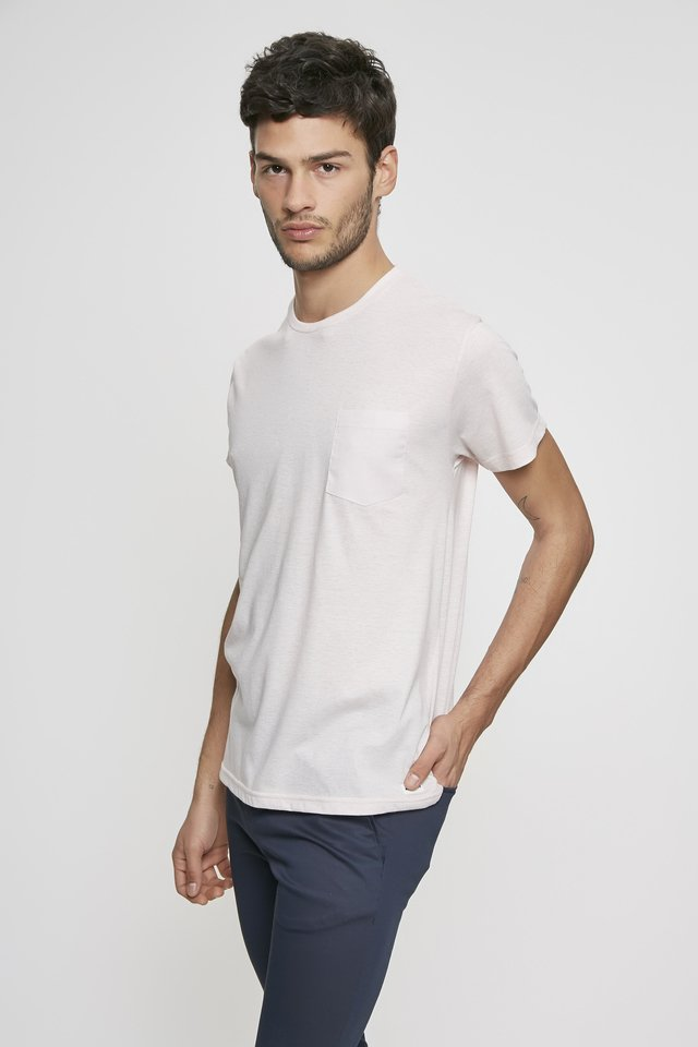 REMERA POCKET LINEN - Airborn