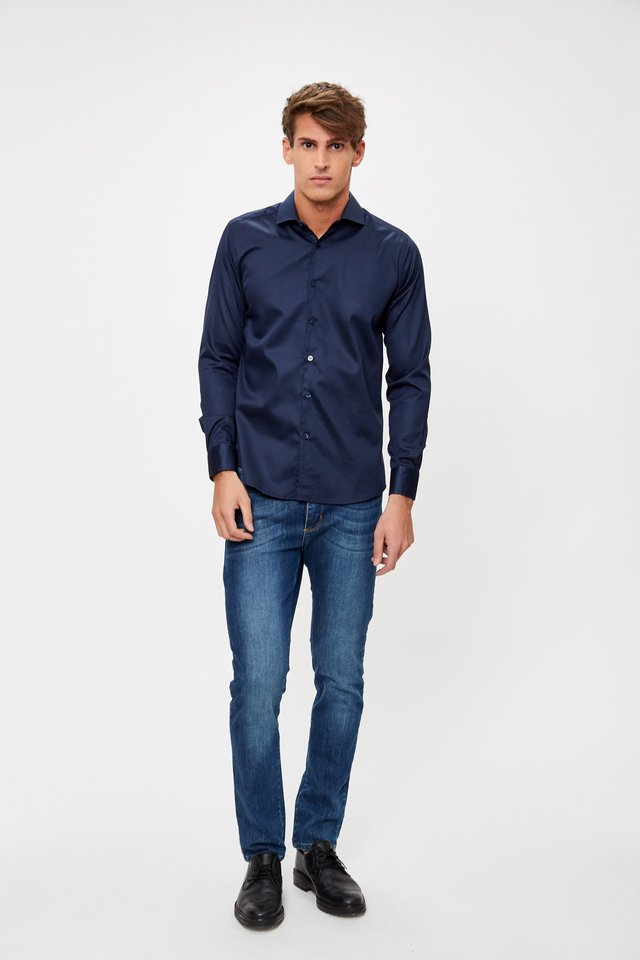 CAMISA BASIC NIGHT - Airborn