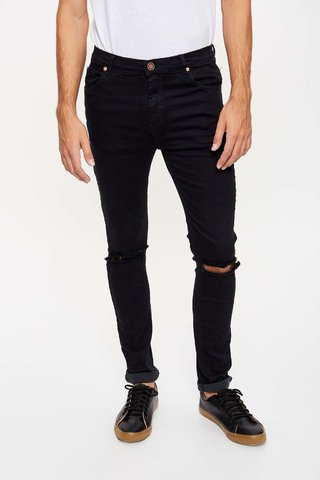 JEAN SLIM FIT BROKEN BLUE