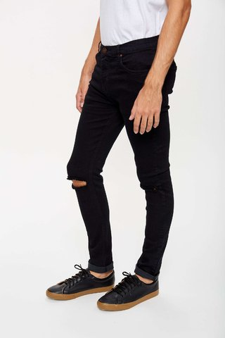 JEAN SLIM FIT BROKEN BLUE - comprar online