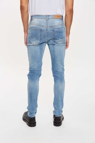 JEAN SKINNY BROKEN LIGHTBLUE en internet