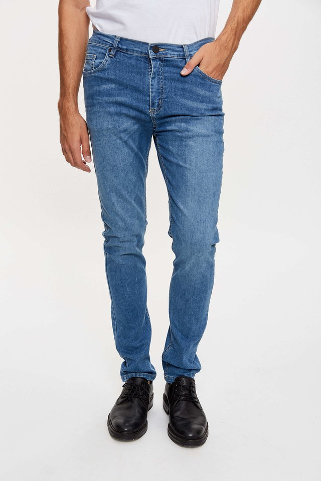 JEAN SLIM FIT DEEP GREY - comprar online