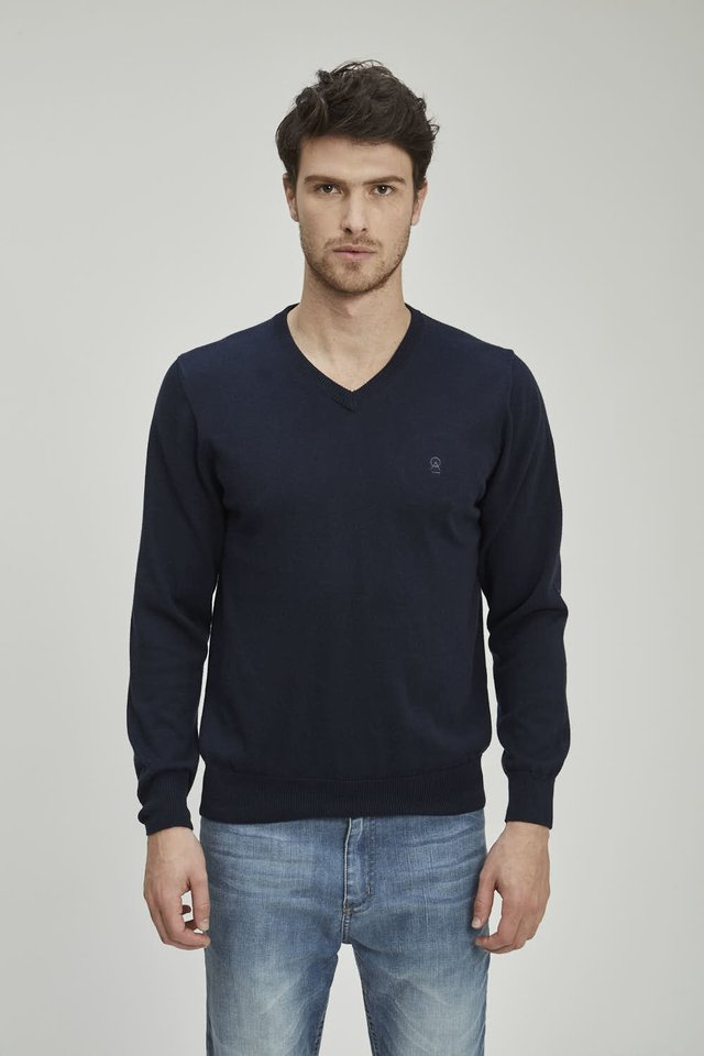 SWEATER BASIC V - Airborn